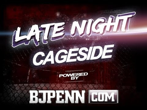 Latenight Cageside with guests Brett Hlavacek Saad Awad