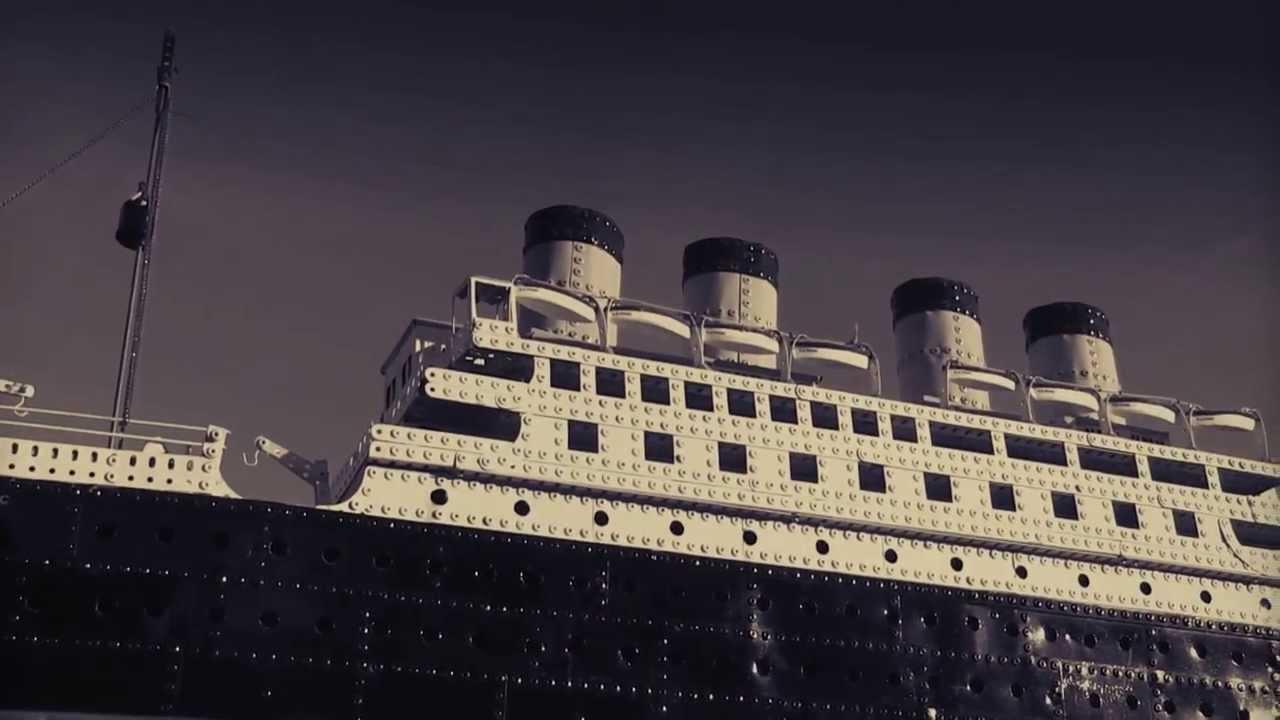 Worlds Largest Titanic Model Ship Built 1930 Hd Hymn