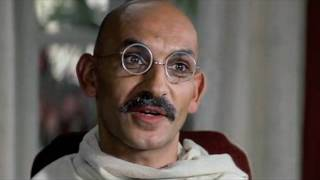 Gandhi Clip on the Salt March (teaching clip for non-violence and direct action)
