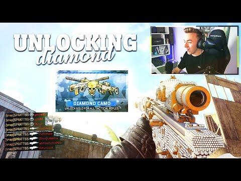 Unlocking DIAMOND TACTICAL RIFLES!! (Road To Dark Matter)