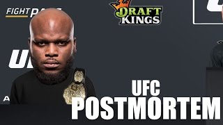 UFC HALIFAX POSTMORTEM!!!