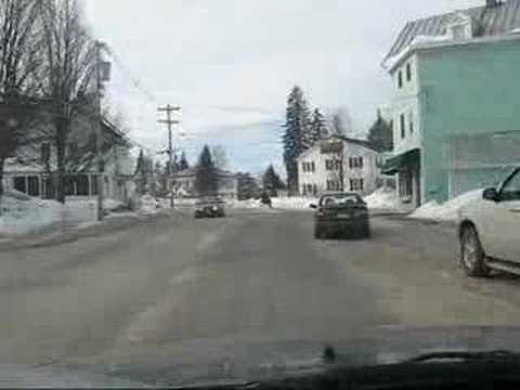 Bethel, Maine: Drive on Main Street