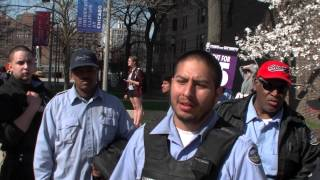 Brinks Truck Drivers Walk Out In Solidarity With Fast Food Workers Fight For $15/hr