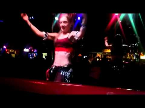 Morgana belly dancing at Jesters 2016