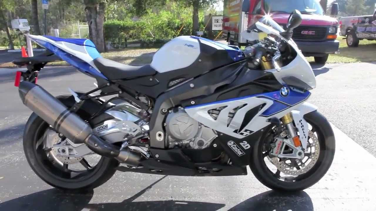 Bmw S1000rr For Sale >> 2013 BMW S1000RR HP4 at Euro Cycles of Tampa Bay Florida - YouTube