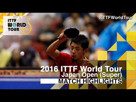 2016 Japan Open Highlights: Zhang Jike vs Vladimir Samsonov (1/4)