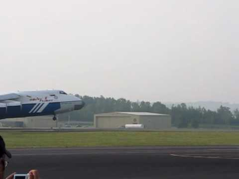 Antonov An-124 Landing at Tri Cities Airport, May 14th, 2010