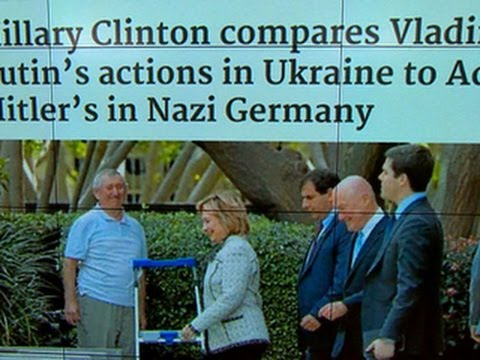 Headlines: Hillary Clinton compares Russia's actions in Ukraine to Nazi Germany