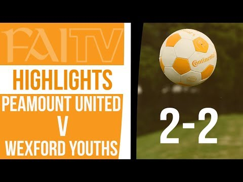 HIGHLIGHTS: Wexford Youths 2-2 Peamount United