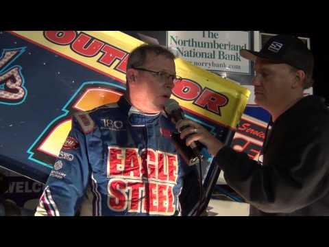 Selinsgrove Speedway 410 Sprint Car Victory Lane 9-13-14