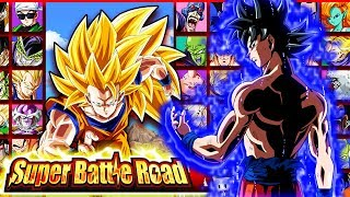 BRAND NEW CATEGORY DBZ DOKKAN BATTLE SUPER BATTLE ROAD STAGES GAMEPLAY!