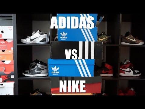 Adidas vs Nike - FIRE / SIMPLE UNBOXING !!! 아디다스 vs 나이키