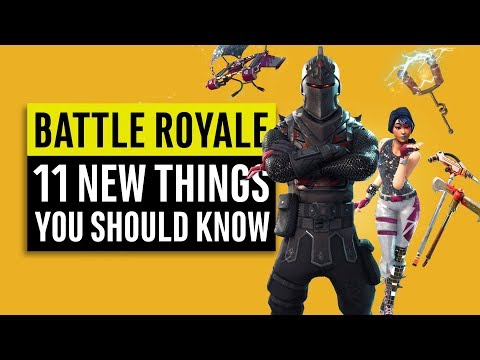 Fortnite Battle Royale | 11 New Things You Need To Know (Patch 1.11) Season 2