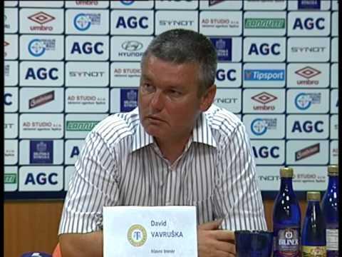 Tisková konference domácího trenéra po zápase s Plzní (14.8.2015)