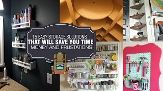 15 Storage solution and DIY organization ideas #1