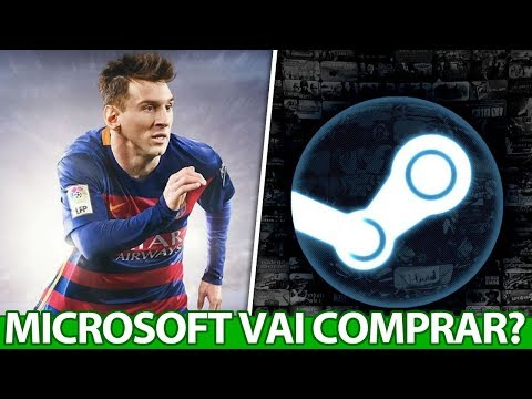 Microsoft vai COMPRAR a EA e a Steam? RUMOR PESADO