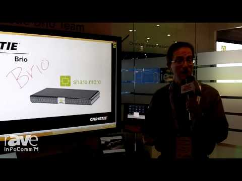 InfoComm 2014: Christie Shows 3 New Members of the Brio Family