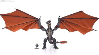 Mega Construx Game of Thrones Daenerys & Drogon review!
