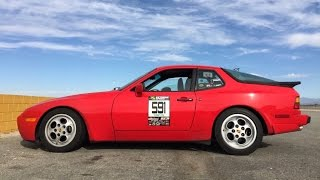 Modified 1987 Porsche 944 Turbo - One Take
