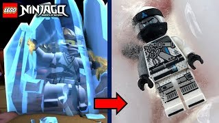 LEGO Ninjago: Zane with REAL Elemental Ice Powers!