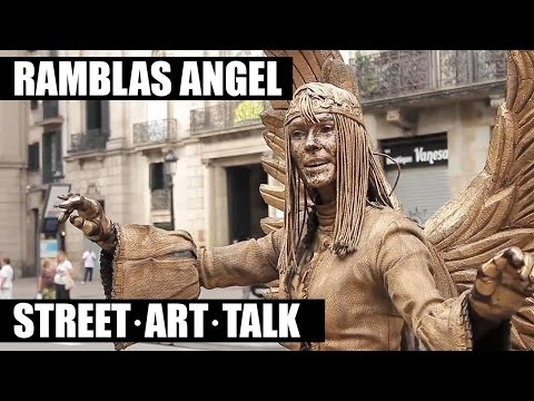 The Golden Angel of Rambla de Barcelona | SOCIETY | DevotionBCN.com