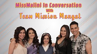 Akshay Kumar, Vidya Balan, Sonakshi Sinha and Nithya Menen Interview | Mission Mangal | MissMalini