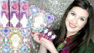 FIRST LOOK Urban Decay Alice Through the Long GlPalette & Lipsticks