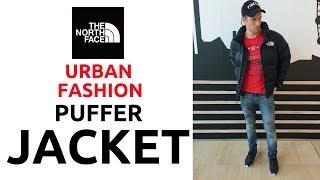 Urban Fashion 2019 (LONDON EDITION)   The North Face Puffer Jacket   Winter Fashion