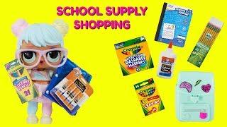 Bon Bon Goes School Supply Shopping Jo Jo Siwa Bows Surprise
