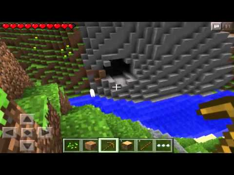 Minecraft Pocket Edition   Ep. 4   Preparing for Caves!