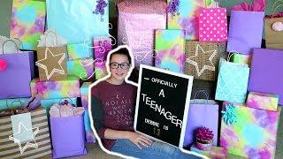 Debbie's 13th Birthday Opening Presents!!