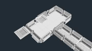Modular Sci-Fi Interior - Modular Components