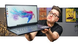 Can It Play Games Though? | MSI PS63 Modern Laptop Review