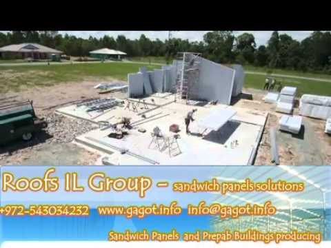 Sandwich Panel & Prefab Homes Manufacture Roofs IL Group
