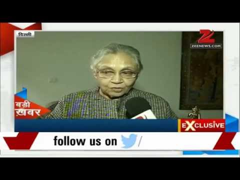 Zee Media Exclusive: Sheila Dikshit talks about Delhi Assembly polls