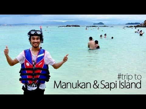 #trip to Sabah ---- Manukan & Sapi Island