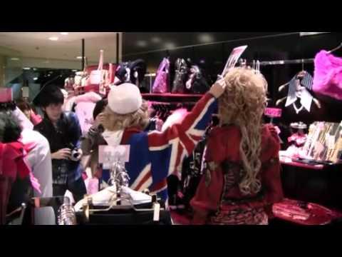 Hizaki from Versailles Shopping at Shibuya 109