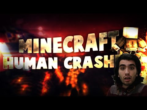Minecraft - GG Human Crashers - Bölüm 1 - w/Ndng,Minecraft Evi,Wolvoroth,Lufit