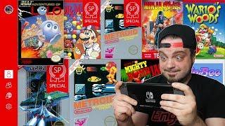 NEW NES Games Online for Nintendo Switch - Ninja Gaiden Debuts! | RGT 85