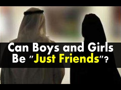 "Can Boys and Girls Be ""Just Friends""?   Ustadh Nouman Ali Khan"