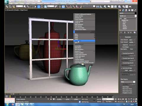 Как в 3d max сделать матовое стекло vray