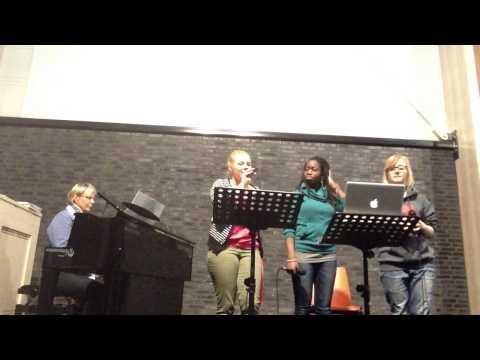 RRANDOM repetitie voor doopzondag in De Regenboog - Regeer in mij (opwekking 569)
