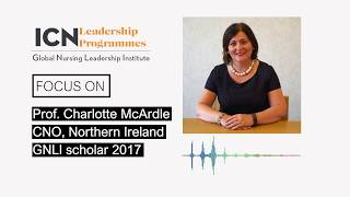 """""""I definitely have a voice at the table!"""", Professor Charlotte McArdle on the GNLI programme"""