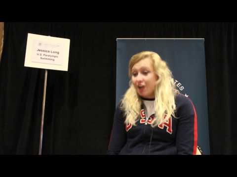 2012 Olympic Team USA Media Summit-Jessica Long.wmv