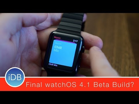 What's New in watchOS 4.1 Beta 4 for Apple Watch - Final Beta Build?