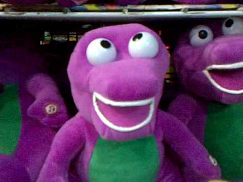 both of my barney the backyard gang dolls review how