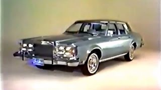 '79 Lincoln Versailles Commercial (Bart Starr, 1978)