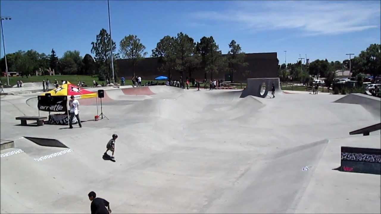 Volcom wild in the parks 2012 memorial skate park colorado - Memorial gardens colorado springs ...