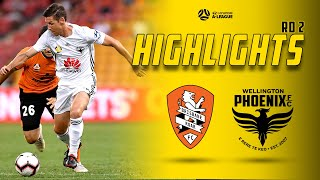 Full-Time Highlights: Brisbane Roar Vs. Wellington Phoenix