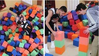 Crazy Foam Pit MINI GAMES vs FaZe RUG!